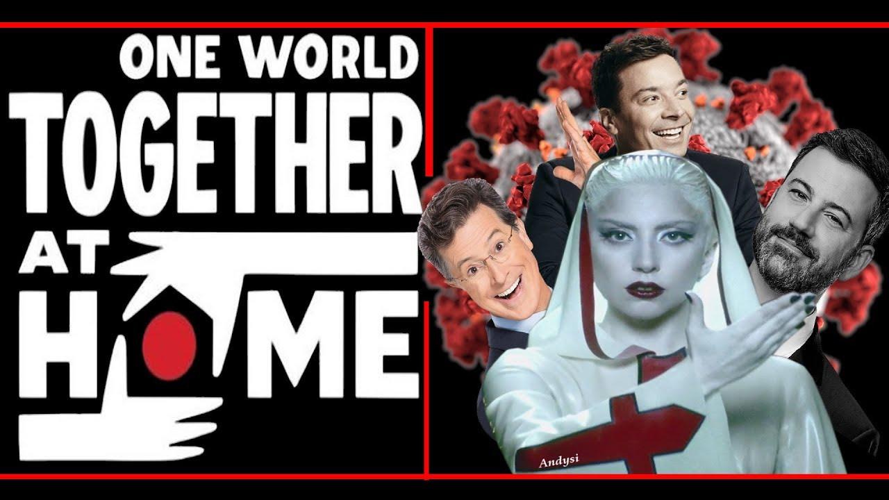 Jimmy Fallon, Jimmy Kimmel และ Stephen Colbert ในคอนเสิร์ตสู้ Covid One World: Together at Home