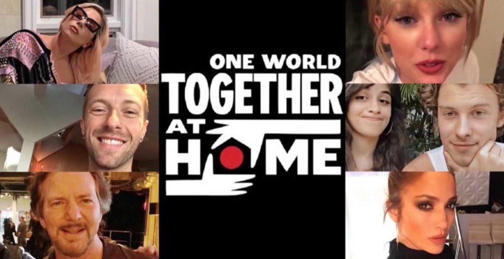 คอสเสริต์ One World Together At Home คอนเสิร์ตการกุศลของศิลปินระดับโลก