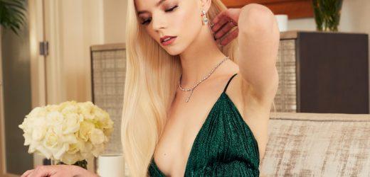 อันยา เทย์เลอร์-จอย ส่องความสวยจากกองถ่ายโฆษณา Tiffany & Co.