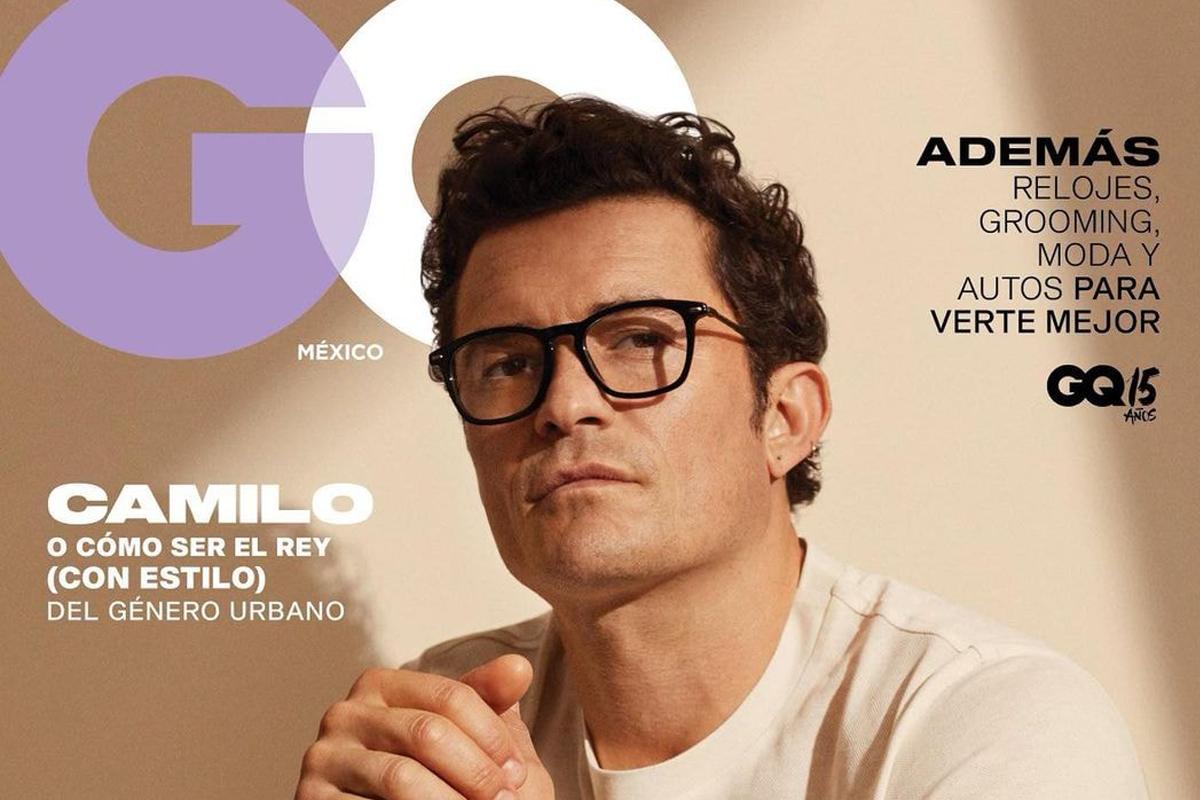 ออร์แลนโด บลูม นักแสดงชายชาวอังกฤษวัย 44 ปีขึ้นปกนิตยาสาร GQ ประเทศเม็กซิโก